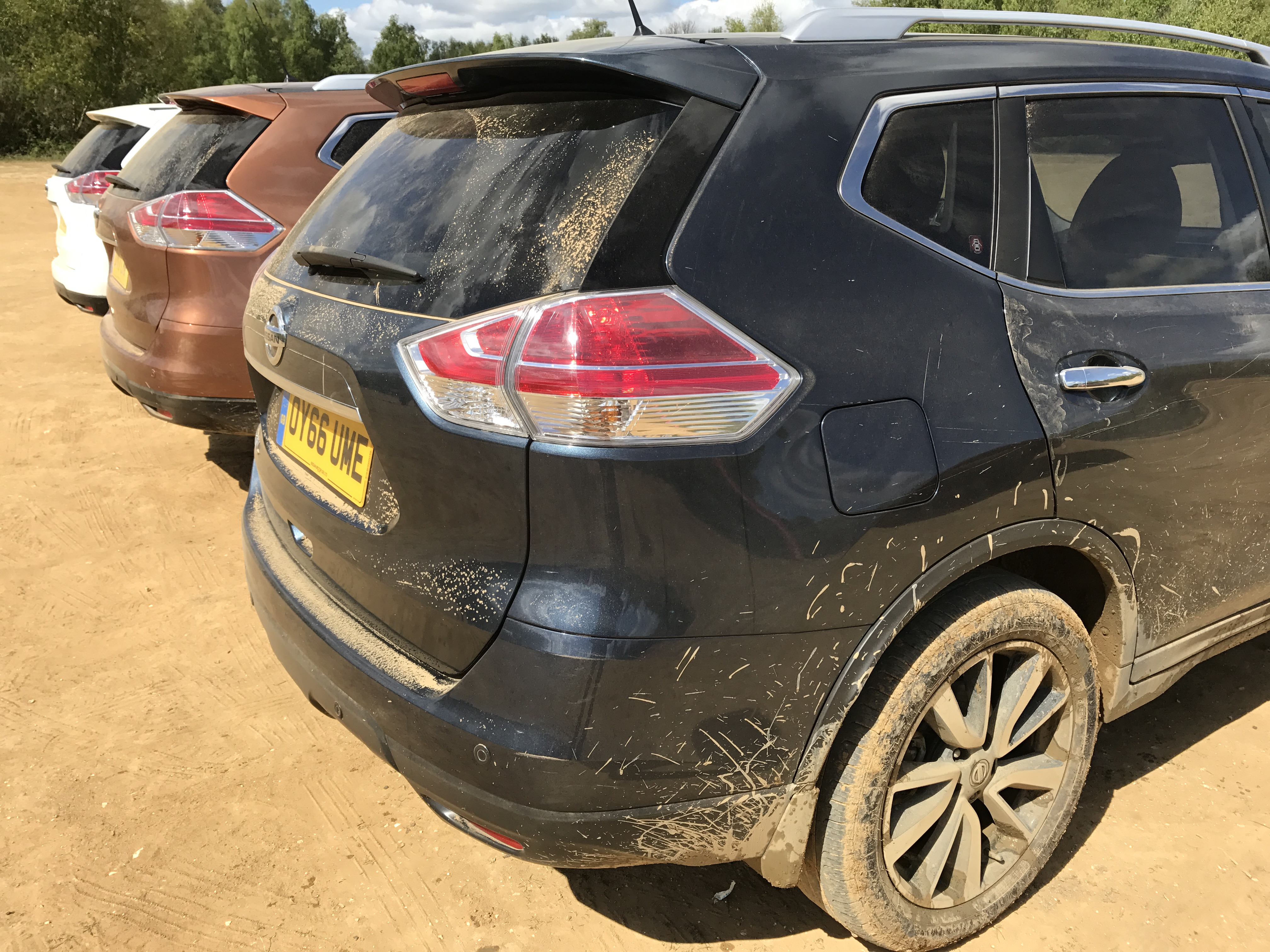 going back to nature in nissan s x trail suv chris price